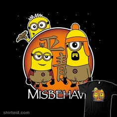 Finally a good minion mash up t-shirt