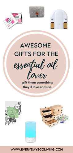 The love for essential oils is real! Once you start, you just can't stop. Check out this roundup of gift ides for any essential oil lover in your life including a few things on my wish list.