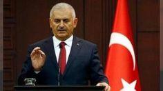 """Binali Yıldırım'dan Kılıçdaroğlu'na saldırı açıklaması: Başbakan Binali Yıldırım """"Ana muhalefet partisi CHP Genel Başkanı Sayın Kemal Kılıçdaroğlunun konvoyunun Artvinde uğradığı silahlı saldırı ülkemizin demokratik istikrarına ve toplumun huzuruna yapılmış alçak bir terörist saldırıdır. Saldırıyı nefretle lanetliyorum"""" dedi."""