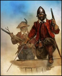 We can not forget the Spanish privateers -  dunquerquenses who, based on the port from which they took their name, a mooring belonging to Spanish Flanders since 1583, acted with great effectiveness in the service of the Spanish Crown.