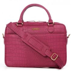 "Hochwertig, stylisch, praktisch... so präsentiert sich die Laptop-Tasche ""Very Berry"" in Fuchsia vom Berliner Newcomer Label ZOOKIE."