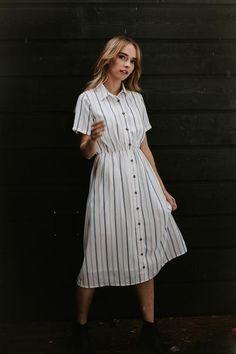 957a48a6afa4 Ophelia Striped Dress – One Loved Babe