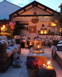 Bohemian Decor Ideas for Outdoor Patio Space