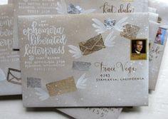 elevated envelope  {mail art inspiration}