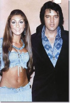 Linda Thompson was Elvis' first notable relationship after his separation from Priscilla.  Linda Thompson was 22 yrs old when she began dating Elvis in July, 1972.