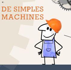Découverte des lois physiques et mécaniques au travers d'animations ludiques et interactives Techno, Math Stem, Simple Machines, Life, Grade 2, Grandkids, Physique, Classroom, French