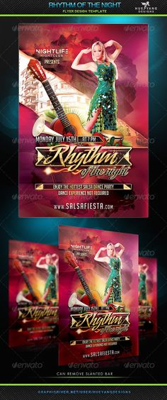 Hispanic Heritage Month Event Flyer Template  Event Flyer
