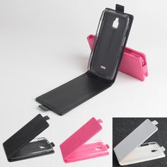 Magnetic Up And Down Flip Pu Leather Case For InFocus M2