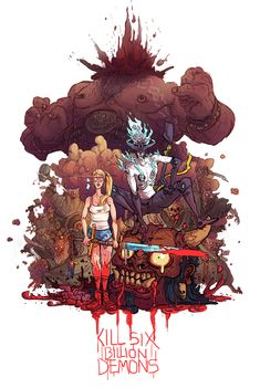 Kill Six Billion Demons, aka the webcomic you should all be reading but probably aren't.