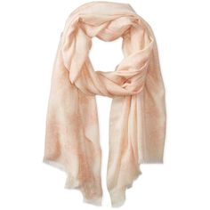 Badgley Mischka Women's Blurred Lace Printed Scarf ($76) ❤ liked on Polyvore featuring accessories, scarves, badgley mischka, lacy shawl, lace scarves, badgley mischka scarves and lacy scarves