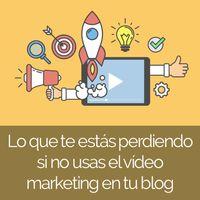 Si quieres hacer marketing online como un profesional, ya no puedes obviar el video marketing. Aquí explico por qué y cómo hacerlo bien.