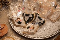 Wedding Themed Cookie Favors