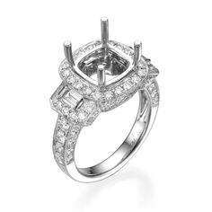 Start by picking out the perfect setting for your Engagement Ring! The details in our designs set the stage for a brilliant center stone of your choice. Engagement Ring Settings, Engagement Rings, Unique Settings, Dream Ring, Dallas, Fine Jewelry, Stone, Diamond, Enagement Rings