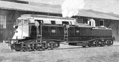 What if The steam electric locomotive had worked out and they had continued to be built into the modern era? Description from eurobricks.com. I searched for this on bing.com/images