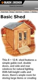 Shed Plans - Shed Plans - 8 x 12 Storage Shed Plans Picture Now You Can Build ANY Shed In A Weekend Even If Youve Zero Woodworking Experience! - Now You Can Build ANY Shed In A Weekend Even If You've Zero Woodworking Experience!
