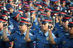 Philippines' Cash-Strapped Cops Cheer New Crime-Buster President