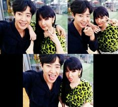 Park Bom shared this pictures (taken with Park Min Woo) on Instagram.