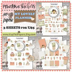 Planner Girl, Planner Stickers for your Erin Condren Vertical Planner, Filofax, KikkiK, any day plan