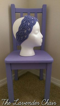 Stacked Shells Headband free crochet pattern - The Lavender Chair