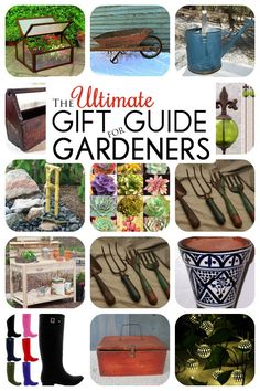 Gift Ideas For Gardeners garden party gardening gift basket Garden Design With Gifts For The Artistic Gardener On Pinterest Concrete Statues With Deck