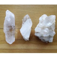 """Universally known as a """"power stone"""" #Quartz is a stone of clarity that dispels negative energy."""