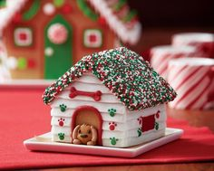 36 Charming Gingerbread House For Christmas Ideas Even though it looks daunting, a small amount of template work can help you earn this as easy as any gingerbread house. What you will need is only click the group of Gingerbread Ho Gingerbread House Template, Gingerbread House Designs, Gingerbread House Parties, Gingerbread Village, Christmas Gingerbread House, Gingerbread House Decorating Ideas, Rice Krispie Gingerbread House, Gingerbread Cookies, Christmas Goodies