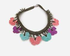 Turkish oya jewelry | Etsy