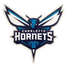 NBA Charlotte Hornets Large Outdoor Logo Decal