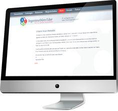 Die neue Webseite vom Ingenieurbüro Eder ist nun online gegangen!