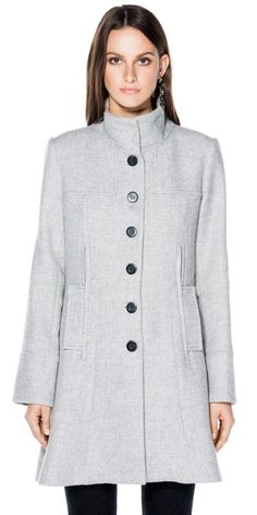 New Arrivals  | Wool Blend Coat