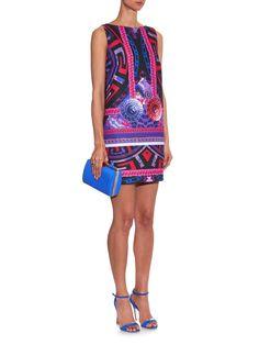 Medusa-print A-line mini dress | Versace | MATCHESFASHION.COM UK | #MATCHESFASHION