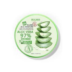 Blumei Jeju Moisture Aloe Vera Soothing Gel 97% 300ml Skin Care Cosmetics Korea #Blumei
