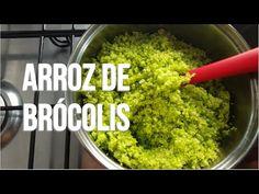 Receita Low Carb Arroz de Brócolis - YouTube
