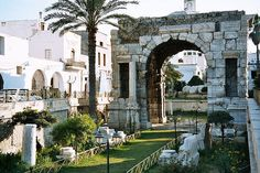Tripoli. Lybia...I had dinner in a restaurant facing to this Roman ruin