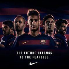 Neymar Jr. Iniesta Messi Suares Pique