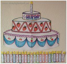 Skapligt Enkelt: Födelsedagstårta