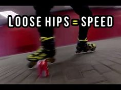 Hip Exercises for Speed & Mobility - Practice Inline Skating Ep 4 - YouTube