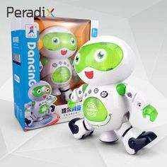 Robot Electric Dancing 360swivel Walking Toys Xmas Gift Music Super Light  Price: 30.99 & FREE Shipping #computers #shopping #electronics #home #garden #LED #mobiles #rc #security #toys #bargain #coolstuff |#headphones #bluetooth #gifts #xmas #happybirthday #fun Electronic Toys, Xmas Gifts, Mobiles, Minions, Computers, Robot, Dancing, Bluetooth, Headphones