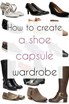 For a capsule wardrobe, the right collection of shoes can provide endless options for building outfits. Here are our ideas for a shoe capsule Minimalist Shoes, Minimalist Wardrobe, Capsule Wardrobe How To Build A, Wardrobe Capsule, Shoe Wardrobe, Office Wardrobe, Fashion Capsule, Up Shoes, Boots For Sale
