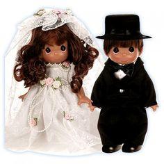 Wedding Bells - Brunette Groom - Dolls - Precious Moments