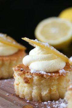Made these for GoT finale. So SO good. - Sansa's Lemon Cakes - Game of Thrones - www.livingbettertogether.com