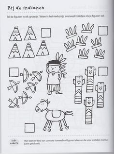 Crafts,Actvities and Worksheets for Preschool,Toddler and Kindergarten.Lots of worksheets and coloring pages. American Indian Art, Native American Indians, Kindergarten, Indian Theme, Indian Crafts, Cowboys And Indians, History Class, Child Day, Worksheets For Kids