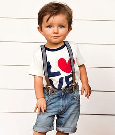 My baby girls has these! These suspended shorts are so cute! Kids   Baby Boy Size 4m-2y   H GB