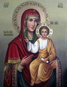 Богородица* Смоленская* икона Божьей Матери.