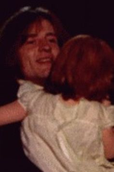 John Paul Jones with his youngest baby girl The Heavy Band, Led Zeppelin Iv, Houses Of The Holy, John Paul Jones, John Bonham, Whole Lotta Love, Young Baby, Jimmy Page, Robert Plant
