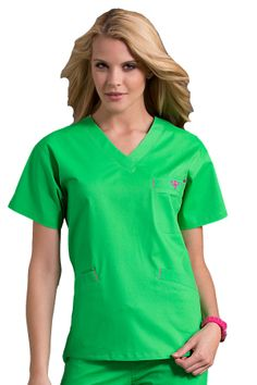 peaches med couture ez flex bold and bright scrubs Med Couture Scrubs, Nursing Clothes, Nursing Scrubs, Cute Scrubs, Coat Sale, Trends, Scrub Tops, Work Shirts, V Neck Tops
