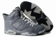 1839 Mens All Grey Air Jordan Retro 6 Leopard Shoes On Sale 28582