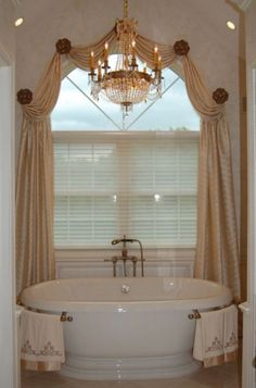 Arched Window TreatmentsI Like This But Will Block Chandelier - Arched window coverings window treatments for arch windows ideas