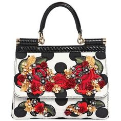 DOLCE   GABBANA Small Sicily Embellished Brocade Bag Dolce And Gabbana  Purses, Embellished Purses, 771f01b92b