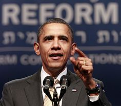President Barack Obama delivers remarks at the 71st General Assembly of the Union for Reform Judaism, Friday, Dec.16,2011  in National Harbor, Md.